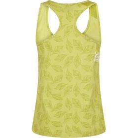 La Sportiva Leaf Top sin Mangas Mujer, amarillo